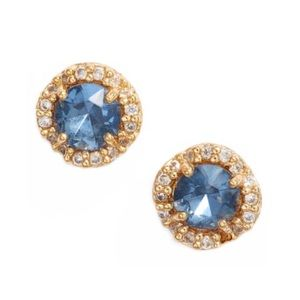 KATE SPADE • That Sparkles Earrings • Sapphire